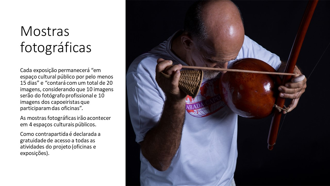 Do que é feita a capoeira? Projeto de Ada Schveitzer com curadoria de André Cypriano