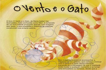 Imagem do livro O Vento e o Gato